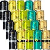 【Amazon.co.jp限定】 サッポロ 99.99 フォーナイン 5种类20本饮み比べセット [ チューハイ 500ml×20本 ]