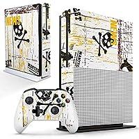 igsticker Xbox One S 専用 スキンシール 正面・天面・底面・コントローラー 全面セット エックスボックス シール 保護 フィルム ステッカー 002939