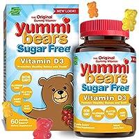 海外直送品Yummi Bears Sugar Free Vitamin D3, 60 gummies by Yummi Bears (Hero Nutritional Products)