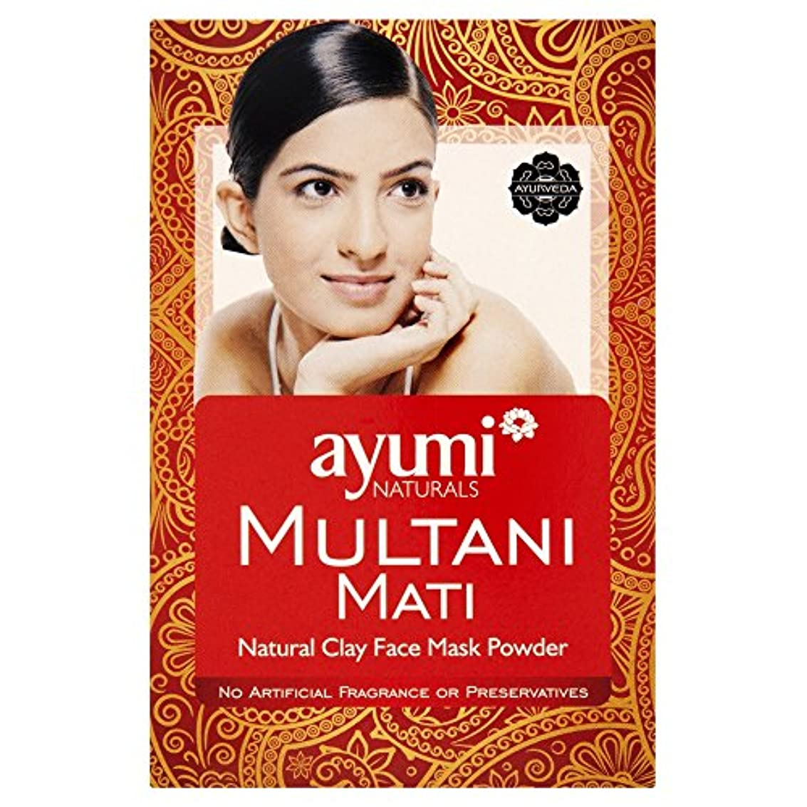 枕茎自慢Ayumi Multani Mati Clay 100g