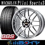 【19インチ】ミシュラン パイロットスポーツ 3 245/40R19 BBS RG-R GP サマータイヤホイール 4本セット MICHELIN Pilot Sport 3 【国産車】