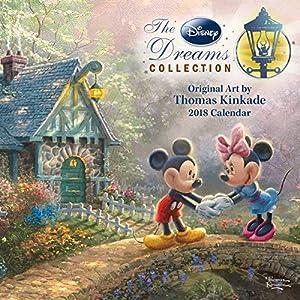 Thomas Kinkade: The Disney Dreams Collection 2018 Mini Wall Calendar