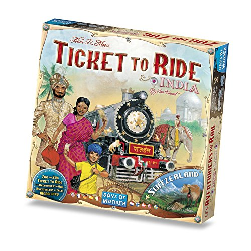 チケット トゥ ライド: インド 拡張セット 並行輸入品