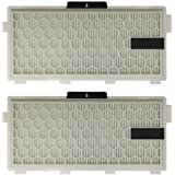 2-Pack Replacement HEPA Filter for Miele S4 S5 S6 S8 C2 C3 Series, Compare to HEPA AirClean SF-HA 50,SF-AA 50,SF-HA 50,SF-AAC