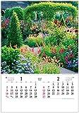 トーダン 2022年 カレンダー 壁掛け トーハン・DXイングリッシュ・ガーデン フイルム TD-535