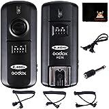 GODOX FC-16N 送信機+受信機セット2.4G 16チャンネル フラッシュリガーシャッター スタジオストロボトリガーシャッター カメラシャッター NikonカメラD800E D800 D700 D300S D300 D200 D4 D3S D