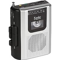 Kenko ラジオカセットレコーダー KR-008AWFRC ワイドFM対応 単3形乾電池駆動 外付けマイク付属