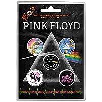 『狂気』発売45周年記念 PINK FLOYD ピンクフロイド - PRISM バッジ5個セット/バッジ 【公式/オフィシャル】