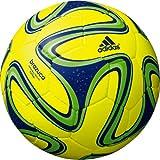 adidas(アディダス) フットサルボール ブラズーカ フットサル AFF4802Y イエローXブルーXグリーン 4号