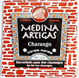 【CHARANGO STRINGS MEDINA 1220・メディナ・アルティガス】チャランゴ用弦 ナイロン製黒・ナイロン製カラー