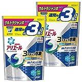 【まとめ買い】 アリエール 洗濯洗剤 パワージェルボール3D 詰め替え ウルトラジャンボサイズ 52個入×2個
