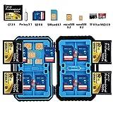 I-VOM 耐候性ストレージケース 光学ハンティングトレイルゲームカメラカード CF Micro SD TF SIM Micro-SIM Nano-SIM Card SDカード用