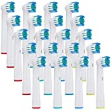 20x NeliCo Replacement Toothbrush Heads Compatible with Oral-B Electric Toothbrush – Precision Clean – Rotating Brush Head fo
