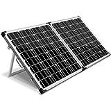 Solraiser 120W 160W 200W 250W 300W Portable Folding Solar Panel Kit 12V Monocrystalline Camping Caravan Boat Charging Power B