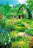 ジブリ美術館限定 ポストカード 魔女の宅急便 「オキノ邸 花の庭」