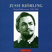 Bjorling Last Performances