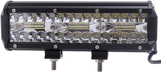 LEDワークライト 作業灯 LEDライトバー オフロード Cree XBDチップ 10-30VDC対応 6000K 新設計 防水・防塵・耐衝撃・長寿命 車外灯・機械・自動車・トラック用品 汎用作業灯