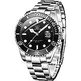 OLEVS 腕時計 メンズ ビジネス 時計 うで時計 男性用 ブランド メタルバンド ステンレスバンド アナログ 表示 おしゃれ カジュアル watch