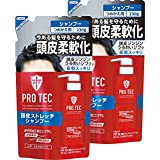 PRO TEC(プロテク) 頭皮ストレッチ シャンプー つめかえ 230g×2個パック (医薬部外品)