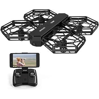 GoolRC T908W ドローン 0.3MP Wifi FPV カメラ付き DIY折り畳み式 ポケットラジコン マルチコプター RC クアッドコプター 玩具 プレゼント