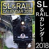SL&RAILカレンダー 2018年版 鉄道 列車 JR
