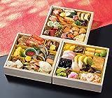 北海道 北のシェフ 和風&海鮮 おせち料理 三段重 盛り付け済み 冷凍おせち お届け日:1月1日?1月2日