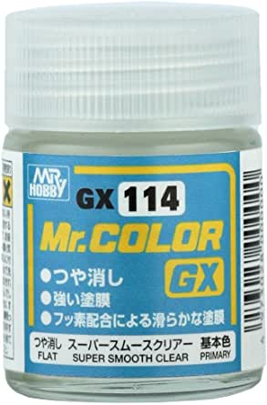 Mr.カラーGX 【 スーパースムースクリアー 《 つや消し 》 基本色 】 cmGX114 / 【2本セット】/ハイグレードなつや消しクリアーをぜひ Mr.ホビー