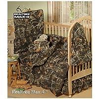 Realtree Max-4 Camo - 6 Piece Crib Set by Kimlor