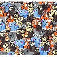 ミニ動物消しゴム-動物園の動物消しゴム - 詰め合わせ144セット x 1インチ 動物園 サファリ ジャングル消しゴム-子供 パーティ 誕生日 パーティー 贈り物 学校教育やデイケア Kidsco