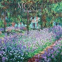 2018 Monet Calendar - 12 x 12 Wall Calendar - with 210 Calendar Stickers [並行輸入品]