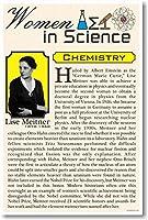 リーゼ・マイトナー–女性の科学化学および物理学–新しい教室ポスター