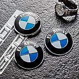 Yiteng BMW エンブレム 73mm 青 白 ブルー 汎用品