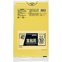 ジャパックス スタンダードポリ袋 カラータイプ 45L 黄 CY45
