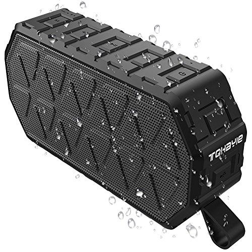 ToHayie Bluetooth スピーカー 6W 防水 (黒)
