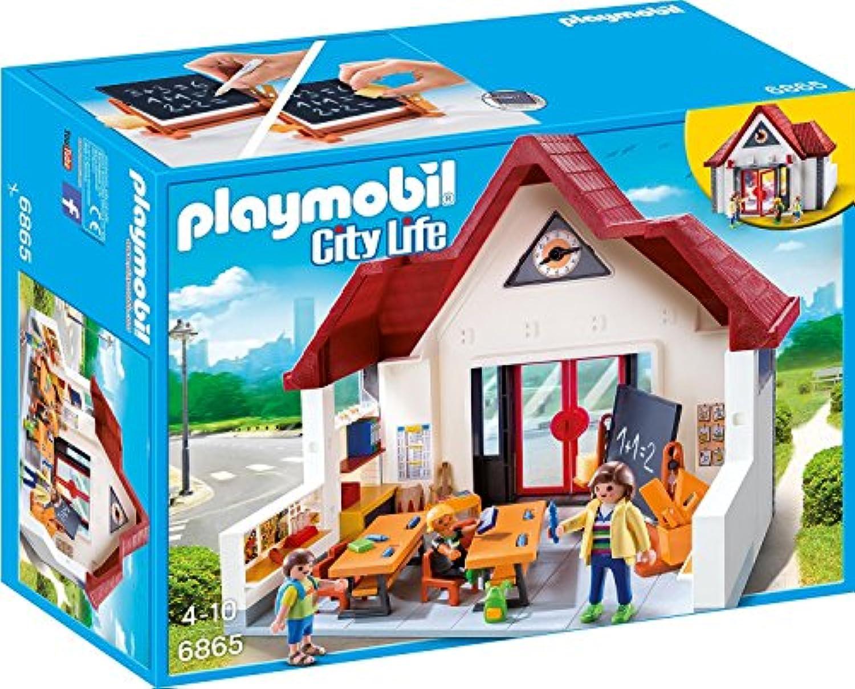 Playmobil (プレイモービル) 学校 赤い屋根の校舎 6865 [並行輸入品]