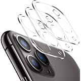 Tamoria [2 Pack] 3D Oneness Screen Protector Camera Lens for iPhone 11 Pro/iPhone 11 Pro Max HD Clear Tempered Glass 9H Anti-