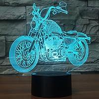 USB LED 3dランプLEDオートバイモデル3dセンサー夜間ライト雰囲気ランプとして寝室装飾
