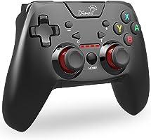 【9月から改良版】Bluetooth Switch コントローラー DinoFire プロコン HD振動 連射 ジャイロセンサー 機能搭載 任天堂 スイッチ 支持 コントローラー スプラトゥーン2 ゼルダ マリオカート8 対応 nintendo switch pro コントローラー 対応