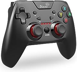 【在庫改良版】Bluetooth Switch コントローラー DinoFire Switch プロコン 任天堂 スイッチ 支持 コントローラー nintendo switch pro コントローラー 対応 HD振動 連射 ジャイロセンサー 機能搭載