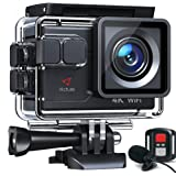 【令和最新】Victure アクションカメラ 4K/30fps 20MP画素 ウェブカメラ ウェブカメラ PC Webカメラ ウェブカメラ 外部マイク対応 リモコン付き WiFi搭載 手振れ補正 40M防水 水中カメラ 170度超広角レンズ 充電可大