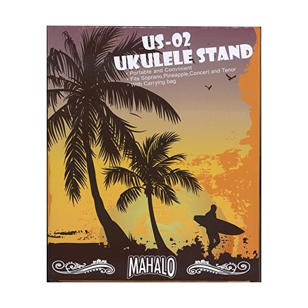 MAHALO X型 木製 ウクレレスタンド U...の紹介画像4