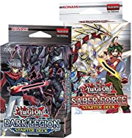【 2種類セット 】 遊戯王 英語版 スターターデッキ セイバーフォース & ダークレギオン Starter Deck Saber Force & Dark Legion