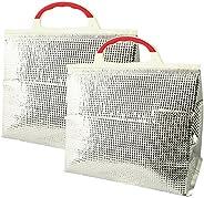 Cooling Bag, Aluminum, Small, Set of 2
