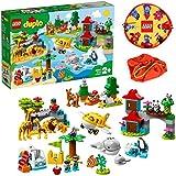 【プライムデー記念発売】LEGO デュプロ 世界のどうぶつ 世界一周探検&レゴプレイマット スペシャルセット