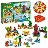 LEGO デュプロ 世界のどうぶつ 世界一周探検&レゴプレイマット スペシャルセット