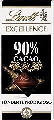 Lindt Excellence Chocolate Bar, 90% Dark, 100g