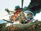 ドラゴン 1/35 ベトナム戦争 アメリカ陸軍 小型ヘリ OH-6A カイユース w/クルー プラモデル DR3310