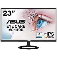 【Amazon.co.jp限定】ASUS フレームレス モニター 23インチ IPS 薄さ7mmのウルトラスリム ブルー…