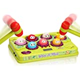 FS Interactive Pound A Mole Game, Light-Up Musical Pounding Toy, Early Developmental Toddler Toys, Interesting Gift for Age 2
