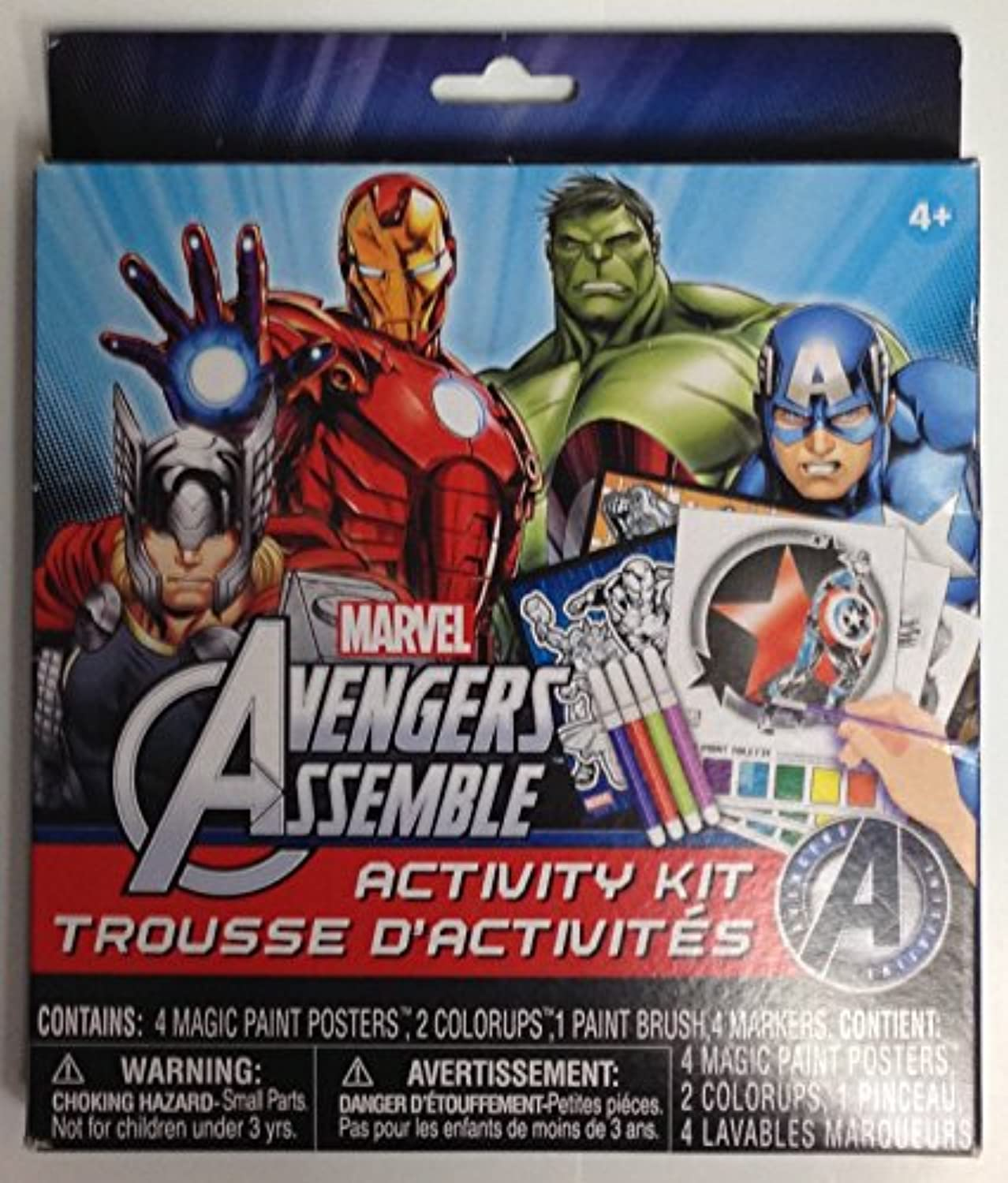MARVEL Avengers Assemble Activity Kit